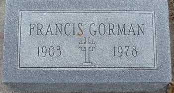 GORMAN, FRANCES - Sioux County, Iowa | FRANCES GORMAN