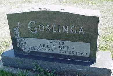 GOSLINGA, ARLIN GENE - Sioux County, Iowa | ARLIN GENE GOSLINGA