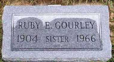 GOURLEY, RUBY E. - Sioux County, Iowa | RUBY E. GOURLEY