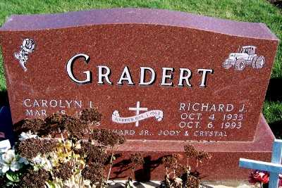 GRADERT, RICHARD J. - Sioux County, Iowa | RICHARD J. GRADERT