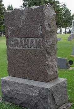 GRAHAM, HEADSTONE - Sioux County, Iowa | HEADSTONE GRAHAM