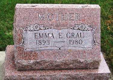 GRAU, EMMA E. - Sioux County, Iowa | EMMA E. GRAU