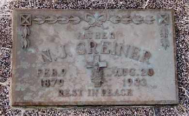 GREINER, N. J. - Sioux County, Iowa | N. J. GREINER