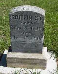 GRIFFIN, JAMES SR. - Sioux County, Iowa | JAMES SR. GRIFFIN