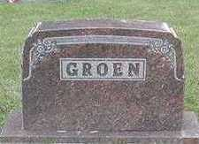 GROEN, HEADSTONE - Sioux County, Iowa | HEADSTONE GROEN