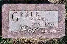 GROEN, PEARL - Sioux County, Iowa | PEARL GROEN