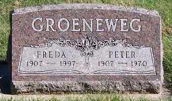 GROENEWEG, PETER - Sioux County, Iowa | PETER GROENEWEG