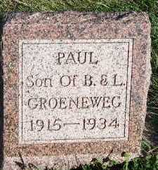 GROENEWEG, PAUL - Sioux County, Iowa | PAUL GROENEWEG
