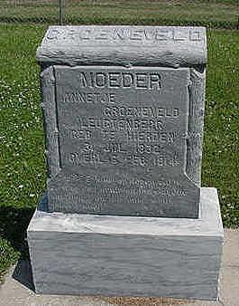GROENVELD, ANNETJE - Sioux County, Iowa | ANNETJE GROENVELD