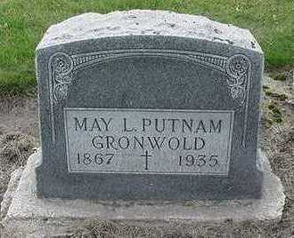 PUTNAM GRONWOLD, MAY L. - Sioux County, Iowa | MAY L. PUTNAM GRONWOLD