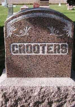 GROOTERS, HEADSTONE - Sioux County, Iowa | HEADSTONE GROOTERS