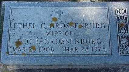 GROSSENBURG, ETHEL C. (MRS. LEO L.) - Sioux County, Iowa | ETHEL C. (MRS. LEO L.) GROSSENBURG