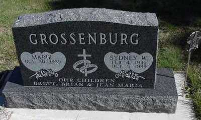 GROSSENBURG, SYDNEY W. - Sioux County, Iowa | SYDNEY W. GROSSENBURG