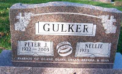 GULKER, PETER J. - Sioux County, Iowa | PETER J. GULKER