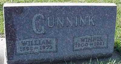 GUNNINK, WINNIE (MRS. WILLIAM) - Sioux County, Iowa | WINNIE (MRS. WILLIAM) GUNNINK