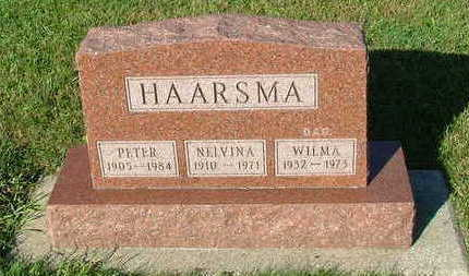 HAARSMA, PETER - Sioux County, Iowa | PETER HAARSMA