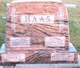 HAAS, JENNIE C. (1887-1961) - Sioux County, Iowa | JENNIE C. (1887-1961) HAAS