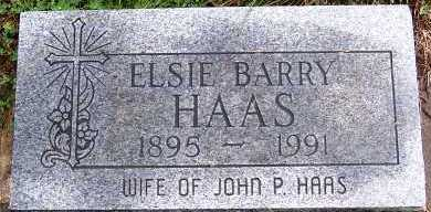 BARRY HAAS, ELSIE (MRS. JOHN P.) - Sioux County, Iowa | ELSIE (MRS. JOHN P.) BARRY HAAS