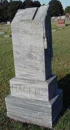 HAGENS, HEADSTONE - Sioux County, Iowa | HEADSTONE HAGENS