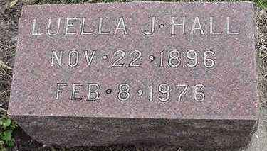 HALL, LUELLA J. - Sioux County, Iowa | LUELLA J. HALL