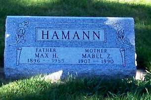 HAMANN, MABEL Z. - Sioux County, Iowa | MABEL Z. HAMANN