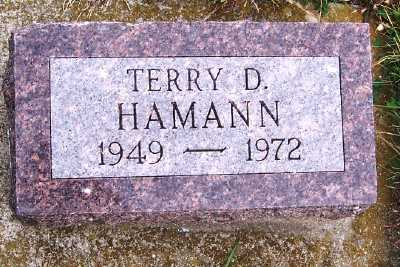HAMANN, TERRY D. - Sioux County, Iowa | TERRY D. HAMANN