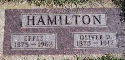 HAMILTON, EFFIE - Sioux County, Iowa | EFFIE HAMILTON