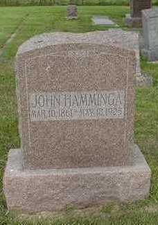 HAMMINGA, JOHN - Sioux County, Iowa | JOHN HAMMINGA