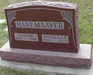 HANEMAAYER, LOUISA - Sioux County, Iowa | LOUISA HANEMAAYER
