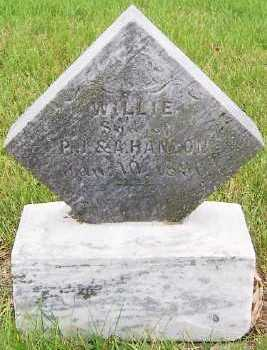 HANLON, WILLIE (SON OF P.J. & A.) - Sioux County, Iowa | WILLIE (SON OF P.J. & A.) HANLON