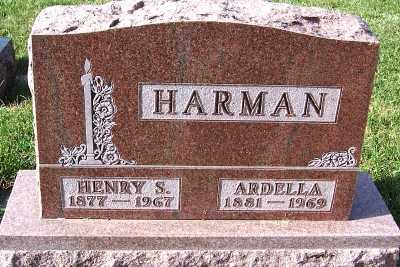 HARMAN, HENRY S. - Sioux County, Iowa | HENRY S. HARMAN