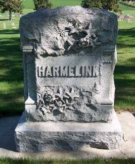 HARMELINK, HEADSTONE - Sioux County, Iowa | HEADSTONE HARMELINK
