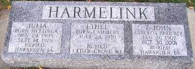 LAMMERS HARMELINK, ETHEL - Sioux County, Iowa | ETHEL LAMMERS HARMELINK