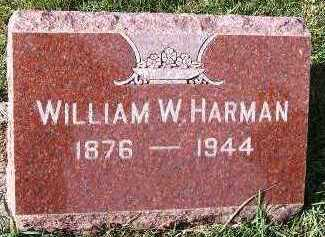 HARMAN, WILLIAM W. - Sioux County, Iowa | WILLIAM W. HARMAN