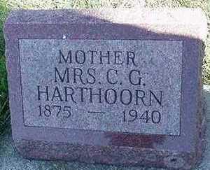 HARTHOORN, C. D. MRS. - Sioux County, Iowa | C. D. MRS. HARTHOORN