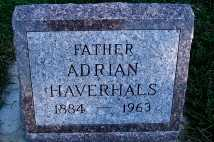 HAVERHALS, ADRIAN - Sioux County, Iowa | ADRIAN HAVERHALS