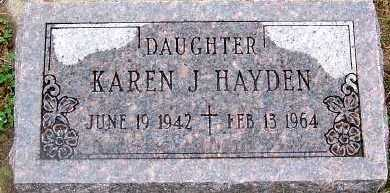 HAYDEN, KAREN J. - Sioux County, Iowa | KAREN J. HAYDEN