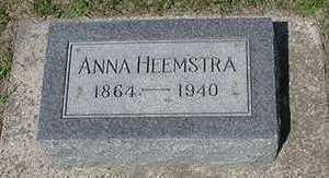 HEEMSTRA, ANNA - Sioux County, Iowa | ANNA HEEMSTRA
