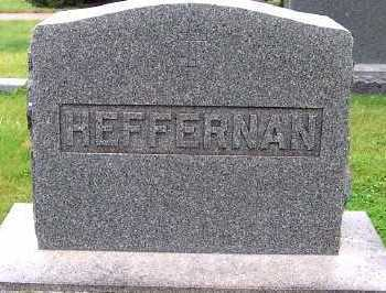 HEFFERNAN, HEADSTONE - Sioux County, Iowa | HEADSTONE HEFFERNAN