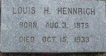 HEIDBRINK, LOUIS H. - Sioux County, Iowa | LOUIS H. HEIDBRINK