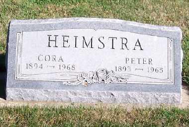 HEIMSTRA, CORA - Sioux County, Iowa | CORA HEIMSTRA