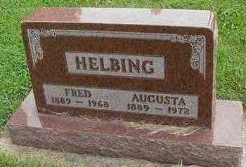 HELBING, AUGUSTA (MRS. FRED) - Sioux County, Iowa | AUGUSTA (MRS. FRED) HELBING