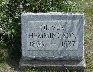 HEMMINGSON, OLIVER - Sioux County, Iowa | OLIVER HEMMINGSON