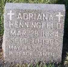 HENNINGFELD, ADRIANA - Sioux County, Iowa | ADRIANA HENNINGFELD