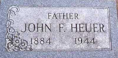 HEUER, JOHN F. - Sioux County, Iowa | JOHN F. HEUER