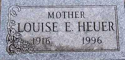 HEUER, LOUISE E. - Sioux County, Iowa | LOUISE E. HEUER