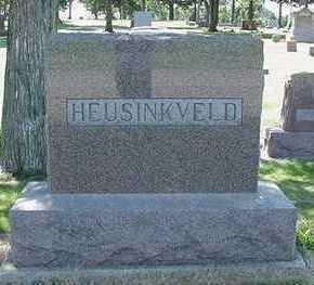 HEUSINKVELD, HEADSTONE - Sioux County, Iowa | HEADSTONE HEUSINKVELD