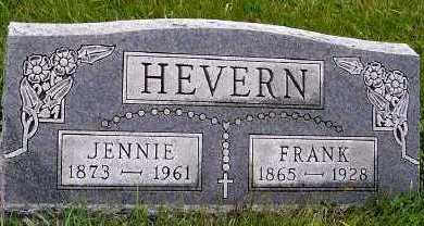 HEVERN, JENNIE - Sioux County, Iowa | JENNIE HEVERN