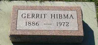HIBMA, GERRIT - Sioux County, Iowa | GERRIT HIBMA