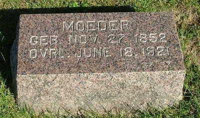 HIBMA, MOEDER - Sioux County, Iowa | MOEDER HIBMA